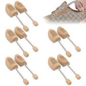 karpal 5 Paar Holz Schuhspanner Schuhstrecker Spiralfeder Lotusholz Schuhformer Schuhformer Gr. 42-43