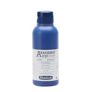 Schmincke 250ml AKADEMIE Acryl Phthaloblau Acryl 23 448 027