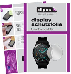 2x Huawei Watch GT 2 (46mm) Schutzfolie klar Displayschutzfolie Folie Display