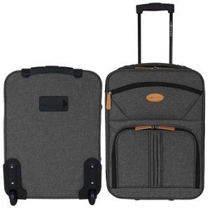 Handgepäck Trolley 30L - Boardcase - Reisekoffer - Grau