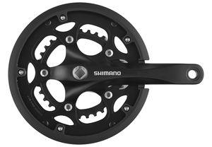 Shimano FC-RS200 Kurbelgarnitur 50x34 8-fach schwarz Kurbelarmlänge 170mm