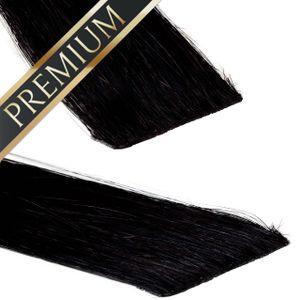 Invisible Tape In Extensions - Premium, Farbe:#1, Länge:60cm