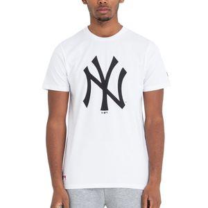 New Era - MLB New York Yankees Team Logo T-Shirt - Weiß : XXL Weiß Farbe: Weiß Größe: XXL