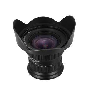 15 mm f4.0 Makroobjektiv 120 Grad Weitwinkel fuer Vollbild / APS-C Kompatibel mit Nikon D7100 / D7200 / D90 / D600 / D3000 / D5000 / D40 / D50 / D300 / D200