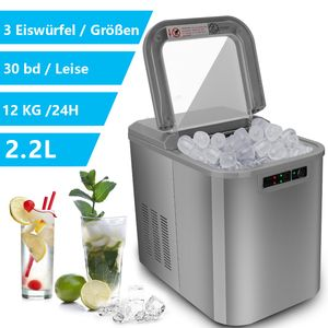 Karpal Eiswuerfelbereiter Eiswuerfelmaschine IceMaker Maschine Eiswuerfel Maschine 2,2L
