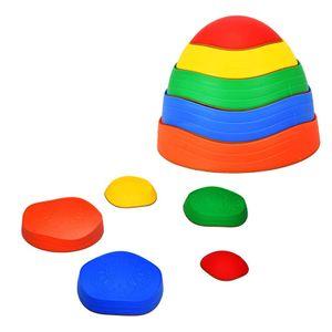 Kreuzung die Fluss Stein Kinder Stepping Stein Indoor Outdoor Balance Training Sport Spielzeug Geschenk Für Kinder