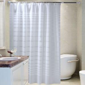 Duschvorhang Anti Schimmel Textil Badewannenvorhang Wannenvorhang Wasserdicht