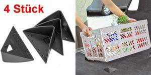 GKA 4 Stück Antirutschecken für Kofferraum Antirutschwinkel Antirutsch Krallen Ladesicherung Camping Wohnmobil