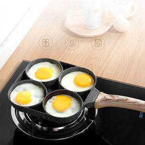 Brat-Eierpfannenform Vierloch-Antihaft-Pfannkuchenpfanne