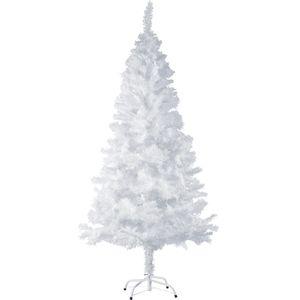 tectake Künstlicher Weihnachtsbaum - 180 cm, 533 Spitzen weiss