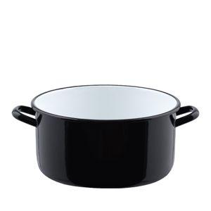 Riess Kasserolle mit Bördel - ohne Deckel - 24cm Durchmesser 10cm hoch 4L