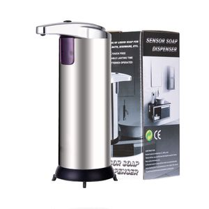 Infrarot Sensor Seifenspender 280ml Automatisch Flüssigseifenspender Dispenser Spender Händ