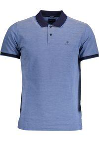 Gant Herren Oxford Pique Rugger Polo-Shirt, Blau S
