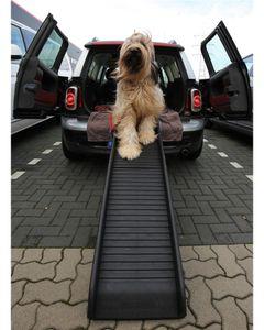 Auto Hunderampe klappbar Anti Rutsch Profil 155 x 39cm bis 90kg 400281