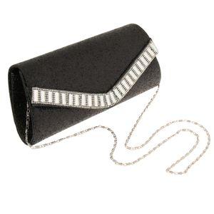 1 Stück Abendtasche für Frauen Farbe Schwarz