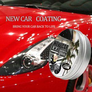 150ml Autowachs Auto Beschichtungswachs Wachs malen + Wischschwamm Kit Auto Polierpaste Hartwachs Malerei Scratch Repair Kit Car Styling Wachs