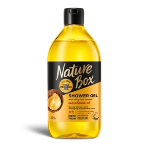 Nature Box Duschgel Shower Gel Macadamia Oil - Pflege - Dusche