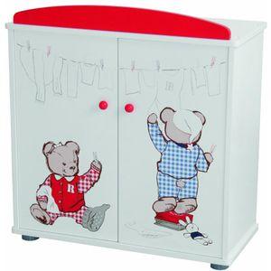 """Roba 98830 Puppenkleiderschrank """"Teddy College"""""""