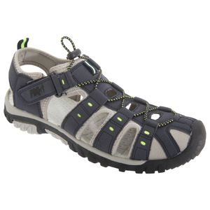 PDQ Herren Sandale / Trekking-Sandale DF555 (40,5 EU) (Marineblau/Limette)