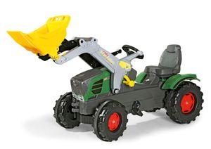 rolly toys Farmtrac Fendt 211 Vario Trettraktor mit Trac Lader, Maße: 142x53x81 cm; 61 105 8