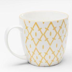 KARE Tasse Art Cuisine Colore 450 ml, Farbe:gelb