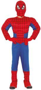 Fiestas Guirca jumpsuit Spider-Man Polyester rot Größe 3-4 Jahre
