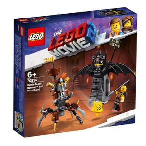 The LEGO Movie™ 2 Einsatzbereiter Batman™ und EisenBart, 70836