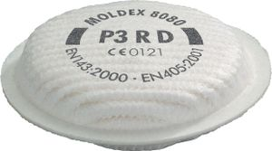 Partikelfilter EN143:2000+A1:2006 Filterklasse P3 R D PP Box