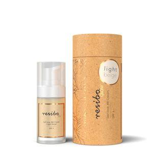 Resibo BB Creme (Getönte Tagescreme) Farbe Light Beige 30ml 100% Vegan - Naturkosmetik