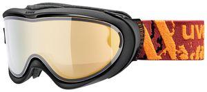 Uvex Comanche Top take off polavision Skibrille, Farbe:weiß