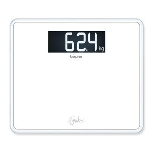 Beurer GS 410 Signature Line Glaswaage schwarz, Farbe:Weiß