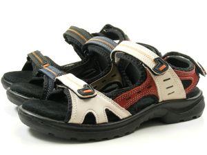 Rohde 5686 Ravenna Schuhe Damen Trekking Sandalen Weite G 1/2, Schuhgröße:40 EU, Farbe:Blau
