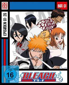 Bleach TV Serie - BOX #1 (BR) 3Disc Episoden 01-20