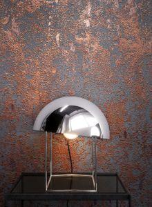 Tapete Betontapete Bronze   Uni Modern Industrial Leicht Glänzend Beton Putz Malwi