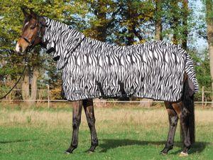 Busse Paddock-Fliegendecke COMFORT PRO - zebra, Größe:165
