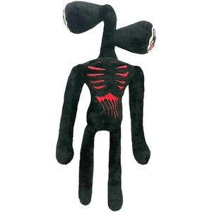 Siren Head Plüschtier Horror Cartoon Cat Plush Gefüllte Puppe Scary Monster Toy,Main Farbe:Black,40cm