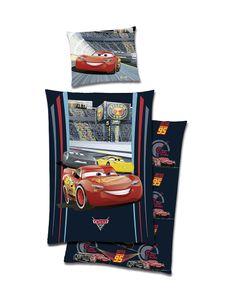 Wende Bettwäsche Cars Disney Baumwolle Renforce 135x200 NEUReissverschluss