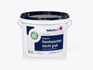 MEGA 603 Megamur Handspachtel leicht grob 10 Liter hellgrau