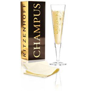 Ritzenhoff CHAMPUS Champagnerglas PUSTEBLUME by Andrea Hilles 2018
