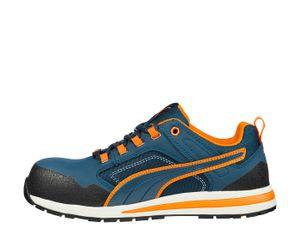 Puma Crossfit Low S3 643100, Farbe:blau, Schuhgröße:44 (UK 9.5)