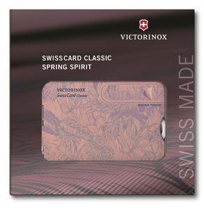 VICTORINOX SwissCard Classic Spring Spirit Taschenwerkzeug 0.7155