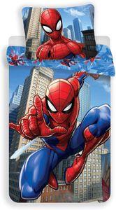 Spiderman Bettwäsche Set 70 x 90 cm + 140 x 200 cm 100% Baumwolle