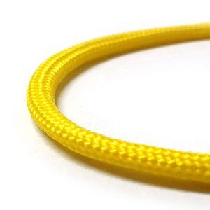 Paracord 550 Fallschirmschnur Schnüre Nylonleine 5 m, Farbe-7 Gelb