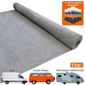 Van Teppich-Verkleidung / Grau & 5 Dosen Mehrzweckkleber