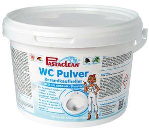 Pastaclean WC Pulver Aktiv Plus 2,5 Kg Premium Kaltaktiv-Schaum Neue Rezeptur