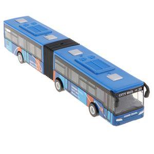 Zurückziehen Gelenkbus, Stadtbus Pullback u0026 Go Fahrzeuge, Party Favors Für Kleinkinder Jungen Und Mädchen Ab 3 Jahren Blau 18 x 3 x 3 cm