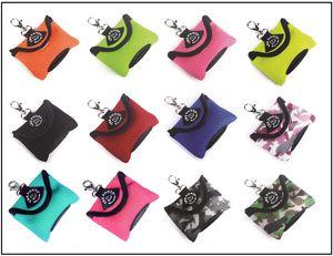 Tre Ponti Hygienic Bag Hundekotbeutel-Spender, Farbe:neon grün