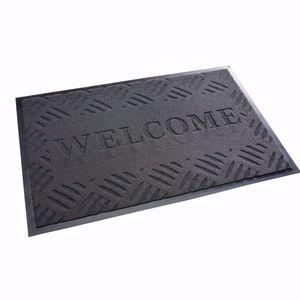 """acerto® - Schmutzfangmatte 40x60cm """"Welcome"""" Wilkommen Fußmatte Türmatte Sauberlaufmatte"""