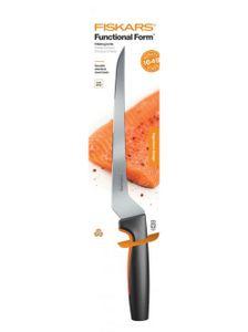 FISKARS Filetiermesser Edelstahl Filiermesser Fischmesser Functional Form 22 cm