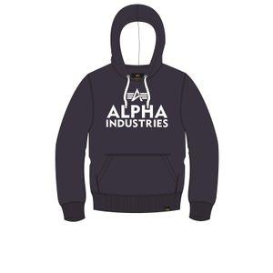 Alpha Industries Kapuzenpullover Foam Print Hoody nightshade M